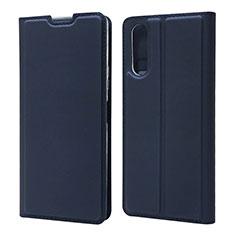 Handytasche Stand Schutzhülle Flip Leder Hülle L04 für Sony Xperia 10 II Blau