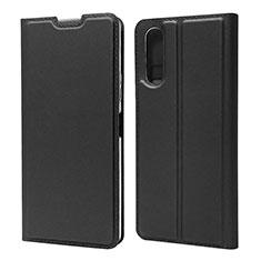 Handytasche Stand Schutzhülle Flip Leder Hülle L04 für Sony Xperia 10 II Schwarz