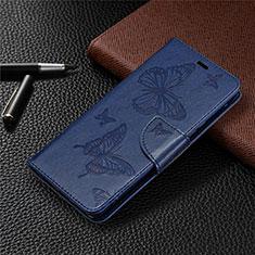 Handytasche Stand Schutzhülle Flip Leder Hülle L04 für Sony Xperia L4 Blau