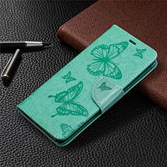 Handytasche Stand Schutzhülle Flip Leder Hülle L04 für Sony Xperia L4 Grün
