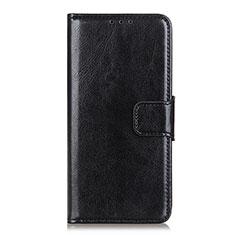 Handytasche Stand Schutzhülle Flip Leder Hülle L04 für Xiaomi Mi Note 10 Lite Schwarz