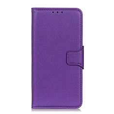 Handytasche Stand Schutzhülle Flip Leder Hülle L04 für Xiaomi Redmi 9i Violett