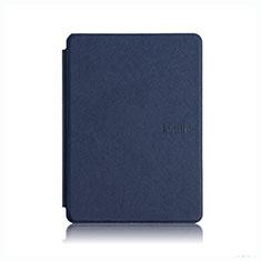 Handytasche Stand Schutzhülle Flip Leder Hülle L05 für Amazon Kindle Paperwhite 6 inch Blau