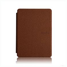 Handytasche Stand Schutzhülle Flip Leder Hülle L05 für Amazon Kindle Paperwhite 6 inch Braun