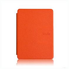 Handytasche Stand Schutzhülle Flip Leder Hülle L05 für Amazon Kindle Paperwhite 6 inch Orange
