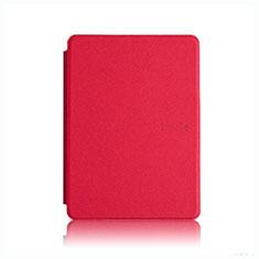 Handytasche Stand Schutzhülle Flip Leder Hülle L05 für Amazon Kindle Paperwhite 6 inch Rot