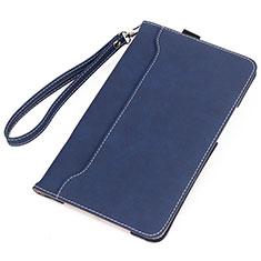 Handytasche Stand Schutzhülle Flip Leder Hülle L05 für Huawei MatePad 10.4 Blau