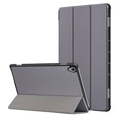 Handytasche Stand Schutzhülle Flip Leder Hülle L05 für Huawei MatePad 10.8 Grau