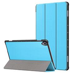 Handytasche Stand Schutzhülle Flip Leder Hülle L05 für Huawei MatePad 10.8 Hellblau