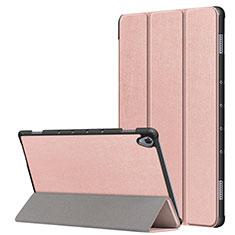 Handytasche Stand Schutzhülle Flip Leder Hülle L05 für Huawei MatePad 10.8 Rosegold