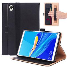 Handytasche Stand Schutzhülle Flip Leder Hülle L05 für Huawei MediaPad M6 8.4 Schwarz