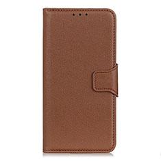 Handytasche Stand Schutzhülle Flip Leder Hülle L05 für Huawei Y5p Braun