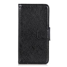 Handytasche Stand Schutzhülle Flip Leder Hülle L05 für LG K52 Schwarz