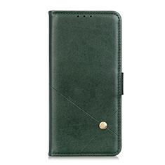 Handytasche Stand Schutzhülle Flip Leder Hülle L05 für Motorola Moto G 5G Grün