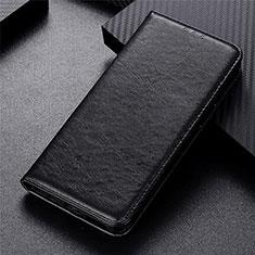 Handytasche Stand Schutzhülle Flip Leder Hülle L05 für Motorola Moto G9 Plus Schwarz