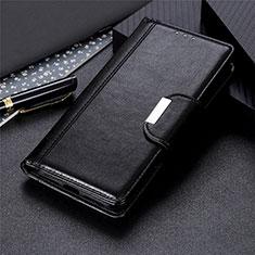 Handytasche Stand Schutzhülle Flip Leder Hülle L05 für Motorola Moto One Fusion Plus Schwarz