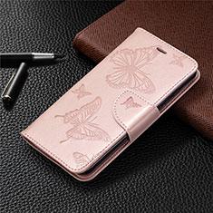 Handytasche Stand Schutzhülle Flip Leder Hülle L05 für Nokia 1.3 Rosegold