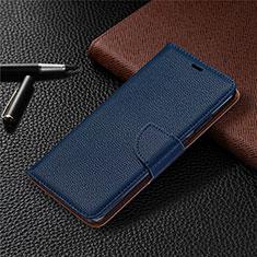 Handytasche Stand Schutzhülle Flip Leder Hülle L05 für Nokia 5.3 Blau