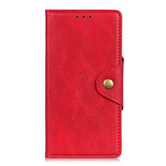 Handytasche Stand Schutzhülle Flip Leder Hülle L05 für Realme 6 Pro Rot