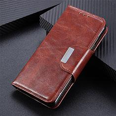 Handytasche Stand Schutzhülle Flip Leder Hülle L05 für Realme C11 Braun
