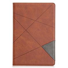 Handytasche Stand Schutzhülle Flip Leder Hülle L05 für Samsung Galaxy Tab S5e 4G 10.5 SM-T725 Braun