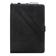 Handytasche Stand Schutzhülle Flip Leder Hülle L05 für Samsung Galaxy Tab S6 Lite 4G 10.4 SM-P615 Schwarz