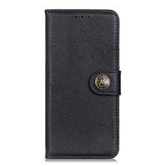Handytasche Stand Schutzhülle Flip Leder Hülle L05 für Xiaomi Poco X3 NFC Schwarz