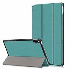 Handytasche Stand Schutzhülle Flip Leder Hülle L06 für Huawei MatePad 10.4 Grün