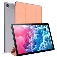 Handytasche Stand Schutzhülle Flip Leder Hülle L06 für Huawei MatePad 10.8 Orange