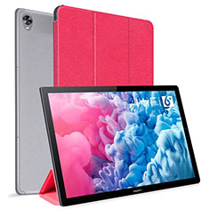 Handytasche Stand Schutzhülle Flip Leder Hülle L06 für Huawei MatePad 10.8 Rot