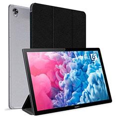 Handytasche Stand Schutzhülle Flip Leder Hülle L06 für Huawei MatePad 10.8 Schwarz