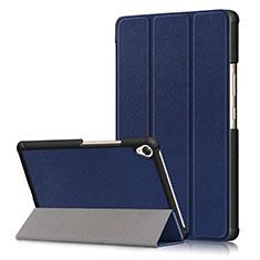 Handytasche Stand Schutzhülle Flip Leder Hülle L06 für Huawei MediaPad M6 8.4 Blau