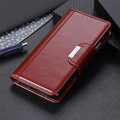 Handytasche Stand Schutzhülle Flip Leder Hülle L06 für Huawei Y7p Braun
