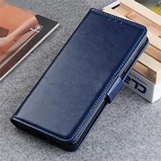 Handytasche Stand Schutzhülle Flip Leder Hülle L06 für LG K22 Blau