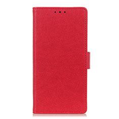 Handytasche Stand Schutzhülle Flip Leder Hülle L06 für Motorola Moto G Stylus Rot