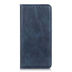Handytasche Stand Schutzhülle Flip Leder Hülle L06 für Realme C17 Blau