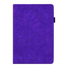 Handytasche Stand Schutzhülle Flip Leder Hülle L06 für Samsung Galaxy Tab S6 Lite 10.4 SM-P610 Violett