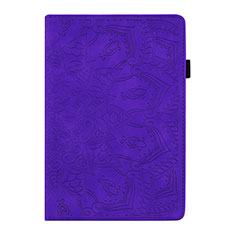 Handytasche Stand Schutzhülle Flip Leder Hülle L06 für Samsung Galaxy Tab S6 Lite 4G 10.4 SM-P615 Violett