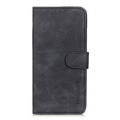 Handytasche Stand Schutzhülle Flip Leder Hülle L06 für Xiaomi Poco X3 NFC Schwarz