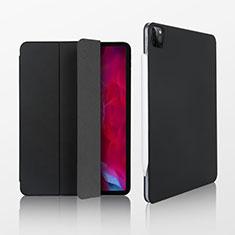 Handytasche Stand Schutzhülle Flip Leder Hülle L07 für Apple iPad Pro 11 (2020) Schwarz