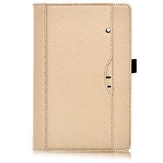 Handytasche Stand Schutzhülle Flip Leder Hülle L07 für Huawei MediaPad M6 8.4 Gold