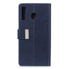 Handytasche Stand Schutzhülle Flip Leder Hülle L07 für Huawei Y6p Blau