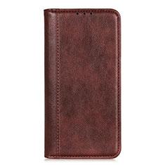 Handytasche Stand Schutzhülle Flip Leder Hülle L07 für LG K52 Braun