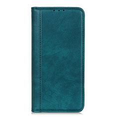 Handytasche Stand Schutzhülle Flip Leder Hülle L07 für LG K52 Grün