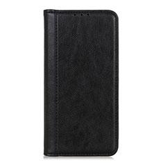 Handytasche Stand Schutzhülle Flip Leder Hülle L07 für LG K52 Schwarz