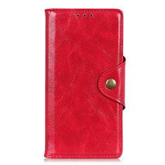 Handytasche Stand Schutzhülle Flip Leder Hülle L07 für Motorola Moto G Fast Rot