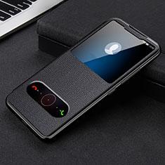 Handytasche Stand Schutzhülle Flip Leder Hülle L08 für Huawei Honor 30 Schwarz