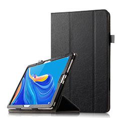 Handytasche Stand Schutzhülle Flip Leder Hülle L08 für Huawei MediaPad M6 10.8 Schwarz