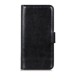 Handytasche Stand Schutzhülle Flip Leder Hülle L08 für Huawei Y6p Schwarz