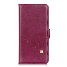 Handytasche Stand Schutzhülle Flip Leder Hülle L08 für LG K52 Fuchsie